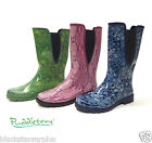 Women's Puddleton by Ranger Garden/Barn/Rain Boots 6,8,9,10,11 Rubber Rainboots