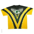New Green Bay Packers V-Dye Tie Dye T Shirt