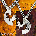 Horse Jewelry, Western Cowboy and Cowgirl Necklaces, Prancing and Rearing Horses