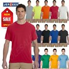 NEW Jerzees Men's Sport 100% Polyester Dri-Fit Work out Gym S-XL T-SHIRT R-21M
