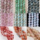 12mm Beauty Round Foil Lampwork Glass Loose Charm Beads Craft Jewelry Findings