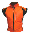 CYCLING JACKET SLEEVELESS HIGHLY VISIBLE HI VIZ WATERPROOF RUNNING HORSE RIDING <br/> P R O M O T I O N A L   O F F E R   for limited time !!