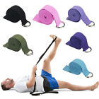 S 71'' Cotton Yoga Stretch Strap Training Belt Waist Leg Fitness Exercise Gym
