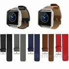 Genuine Leather Replacement Band Wrist Strap For Fitbit Blaze Activity Tracker