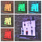 LED Lighted Bottle Display Stand System, Back Bar Display, Bar Steps