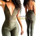 Sexy Womens V Neck Bodycon Jumpsuit Romper Trouser Clubwear Bandage Dress Party