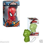 Marvel Hulk Or Spiderman Soap On A Rope Bath Fine Time Boy`s Gift Set New