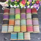 1Roll Trim Cotton Crocheted Lace Fabric Decration Handmade Accessories Craft
