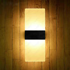 6W Dimmable/N LED SMD 5730 Acrylic Wall Sconce Lamp Vestibule Shop Fixture Light