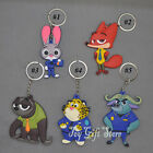 Zootopia KEY CHAINS keychain Nick Wilde Judy Hopps Clawhauser Cheetah
