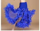 D099 Belly Dance Skirt Costume Rio Carnival Oriental India Dance Skirt 5 Colors
