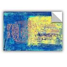 ArtWall Blue With Stencils by Elena Ray Painting Print