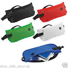 2x DISCREET MONEY TRAVEL WAIST BELT ZIPPED PASSPORT WALLET SECURITY POUCH BUMBAG