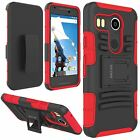 Madcase Rigid Armour Durable Shockproof Kickstand Case for Google LG Nexus 5x