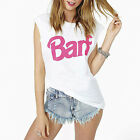 Letter Print Women T-shirts Cotton Short-sleeve Tees White Sports Tops Plus Size