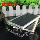 100000mAh SOLAR Battery Power Bank 2USB Portable Charger For Xiaomi Iphone6 Plus