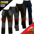 Work Trouser Trade Multi Tool / Knee Pad Pockets Pants Triple Stitched Workwear