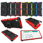 For Sony Xperia X Case Shockproof Hybrid Dual Layer Armor Stand Phone Cover