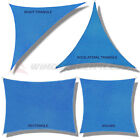Sun Shade Sail Fabric Outdoor Canopy Patio Pool Awning Cover 12' or 16' or 18' cheap