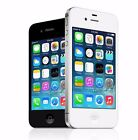 """Apple iPhone 4S 8GB """"Factory Unlocked"""" Black and White Smartphone"""