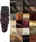 NEW LADIES CURLY CLIP IN 8 PIECE SET WEFT HAIR EXTENSIONS KOKO UK STOCK