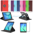 "Smart Leather Case Cover+Tempered Glass Film For Samsung Galaxy Tab A 8"" 9.7"""