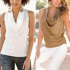 New Women Summer Vest Sleeveless Casual Blouse Fashion Party Club T-Shirt