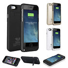 """External Battery Charger Case Cover Power Bank Pack For iPhone 6 Plus 4.7""""  5.5'"""