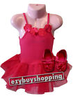 Baby Tutu Pink Ballet Ballerina Summer Dress Girls Set