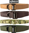 Army Combat Military British Webbing Waist Tactical Rigger Utility Molle Belt