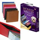 6 Colors Wonder Wallet ID/Credit Card Slim Purse Genuine Leather As Seen On TV