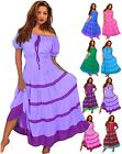 LotusTraders G4480 MEXICAN PEASANT DRESS SMOCKED ART S M OS 3X 5X MADE TO ORDER