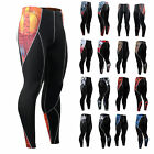 FIXGEAR Mens Womens Tights Compression pants Running GYM  Base Layer wear S~4XL
