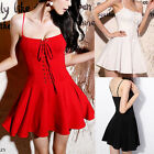 Womens Sexy Summer Casual Sleeveless Evening Party Cocktail Short Mini Dress