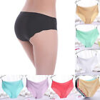 Women Invisible Seamless Thong Lingerie Briefs Hipster Underwear Panties Soft