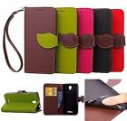 For Lenovo A5000 A 5000  PU Leather Soft TPU Card Wallet Flip Cover Case Fashion
