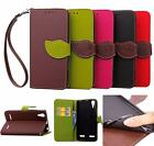 For Lenovo Lemon K3 A6000 PU Leather Soft TPU Wallet Cover Case Business Fashion
