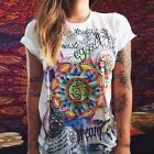 Women Casual Loose Popular Street Print T-shirt girls charming Tops Blouse EN24H