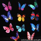 MAGNETIC BUTTERFLIES FOR PLANTS, CURTAINS, BLINDS etc. CHOOSE COLOUR / DESIGN