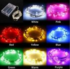 2M/3M/5M/10M Multiple Color Sliver Wire Fairy LED String  Battery Decorate Light