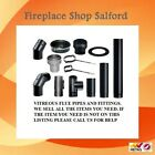 stove pipe five inch & six inch for wood burner and multifuel stoves