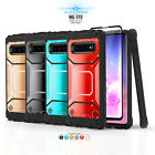 REFINED ARMOR COVER PHONE CASE & HOLSTER FOR SAMSUNG GALAXY J7 (2016) +BUNDLE