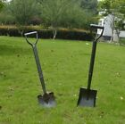 Quality and Lightweight Mini Shovel Spade Metal Detecting ROUND OR SQUARE MOUTH