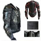 Motorcycle Motorcross Armor Jacket Spine Chest Gear Protection body Guard Jacket
