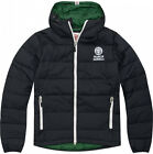 Franklin & Marshall MCA003 Mens Quilted Down Jacket Black