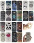 For Samsung Galaxy S6 Edge G9250 Soft TPU Cover Case Owl Lion Flower Panda Wave