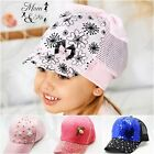 Girls Baby Toddler Baseball Caps Sun Summer Hat Disney Adjustable