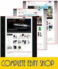 Full Professional eBay Shop Store & Listing Template Design Free Installation