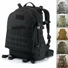 40L Military Tactical Army Rucksacks Molle Backpack Camping Hiking Trekking Bag