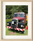 Old Scammell Truck Font View Epson Print in Ikea, A3 Clipframe or print only